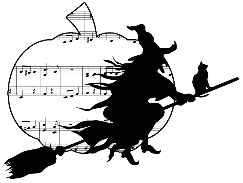 Halloween piano sheet music