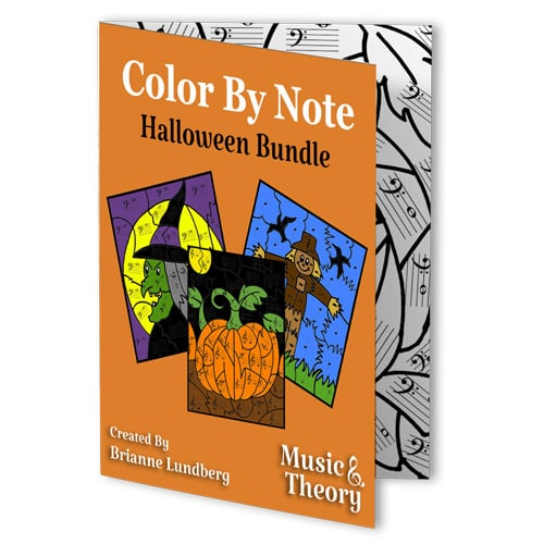 Color By Note: Halloween Bundle