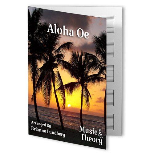 Aloha Oe Piano Sheet Music