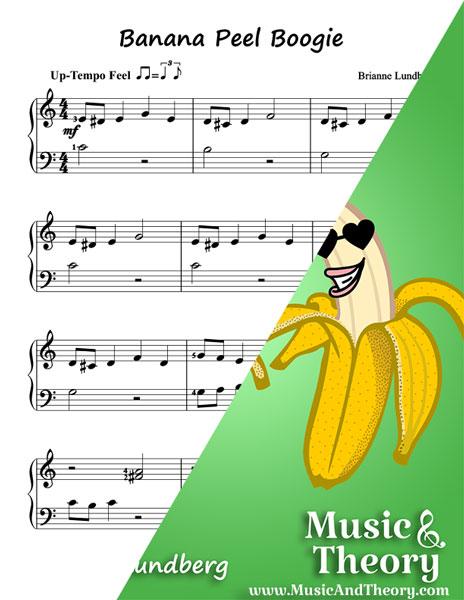 Banana Peel Boogie Piano Sheet Music Sample