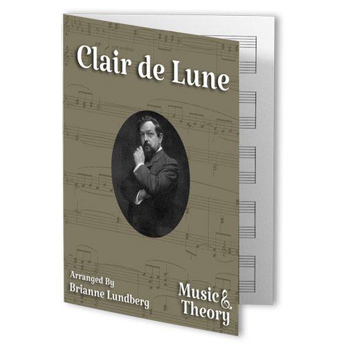 Clair de Lune Easy Piano Sheet Music