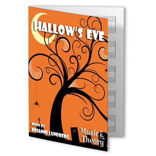 Hallow's Eve Halloween Piano Sheet Music
