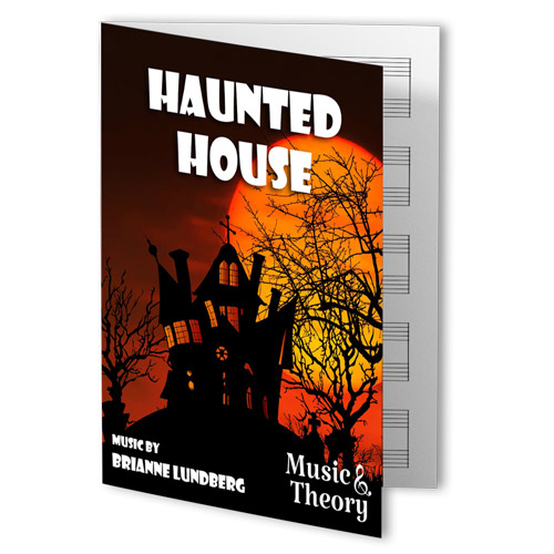 Haunted House Piano Sheet Music