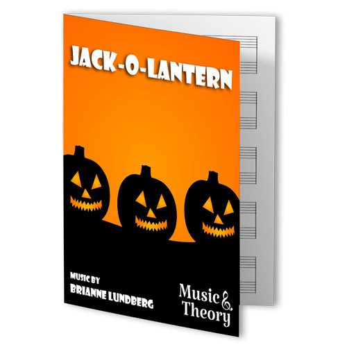 Jack-o-Lantern Halloween piano sheet music