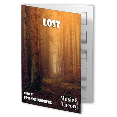 Lost Halloween Piano Sheet Music