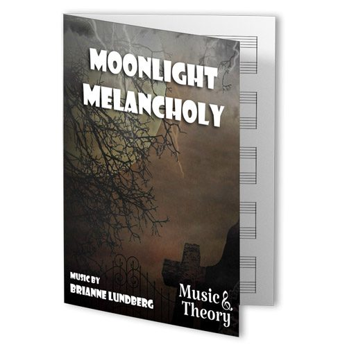 Moonlight Melancholy Halloween Piano Sheet Music