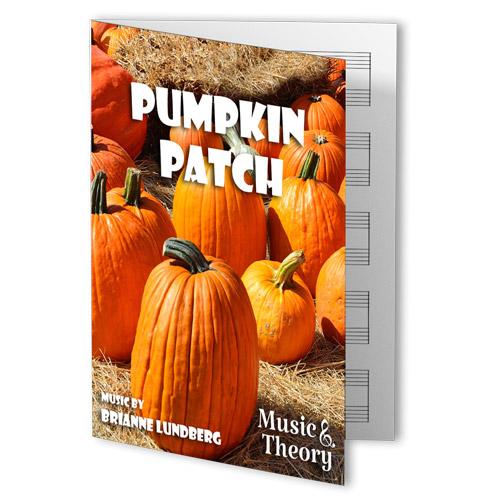 Pumpkin Patch Halloween Piano Sheet Music