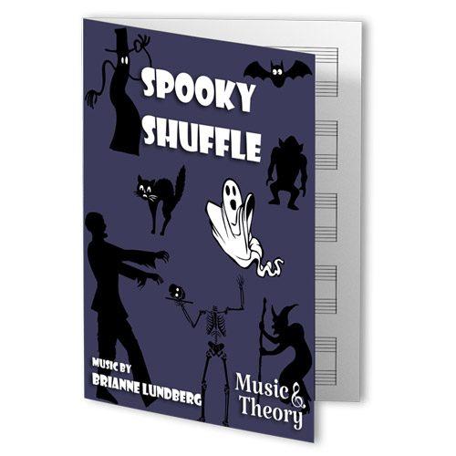 Spooky Shuffle Halloween Piano Sheet Music