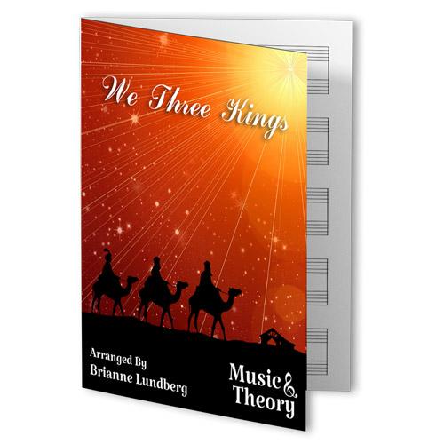 We Three Kings Piano Sheet Music