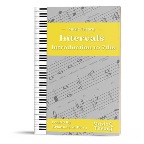Intervals: Introduction to 7ths Packet