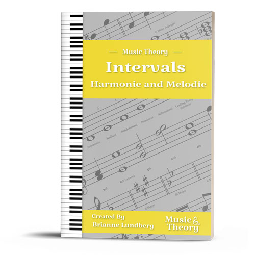 Intervals: Harmonic and Melodic Packet