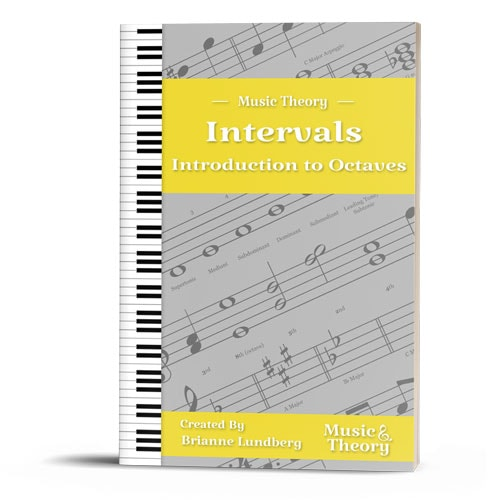 Intervals: Introduction to Octaves (8ths) Packet