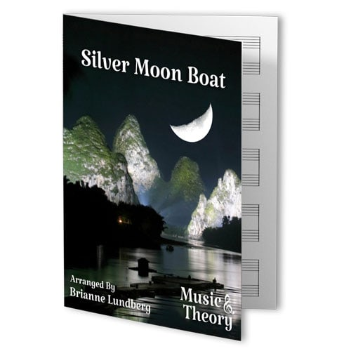 Silver Moon Boat (Chinese Folk Song)