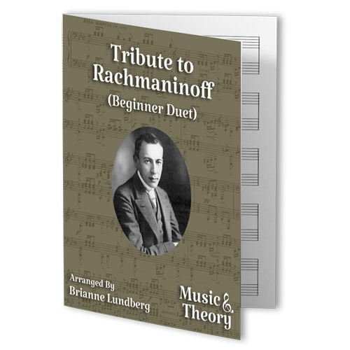 Tribute to Rachmaninoff (Beginner Duet)