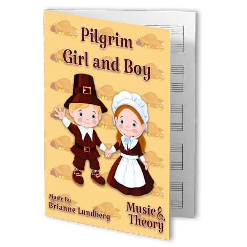Pilgrim Girl and Boy