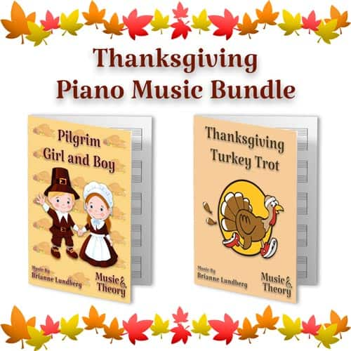 Bundle: Thanksgiving Turkey Trot and Pilgrim Girl and Boy