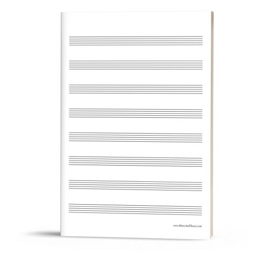 FREEBIE: Manuscript Paper (Music Staff Paper)