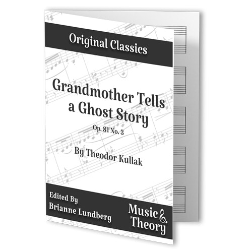 Grandmother Tells a Ghost Story (Kullak)